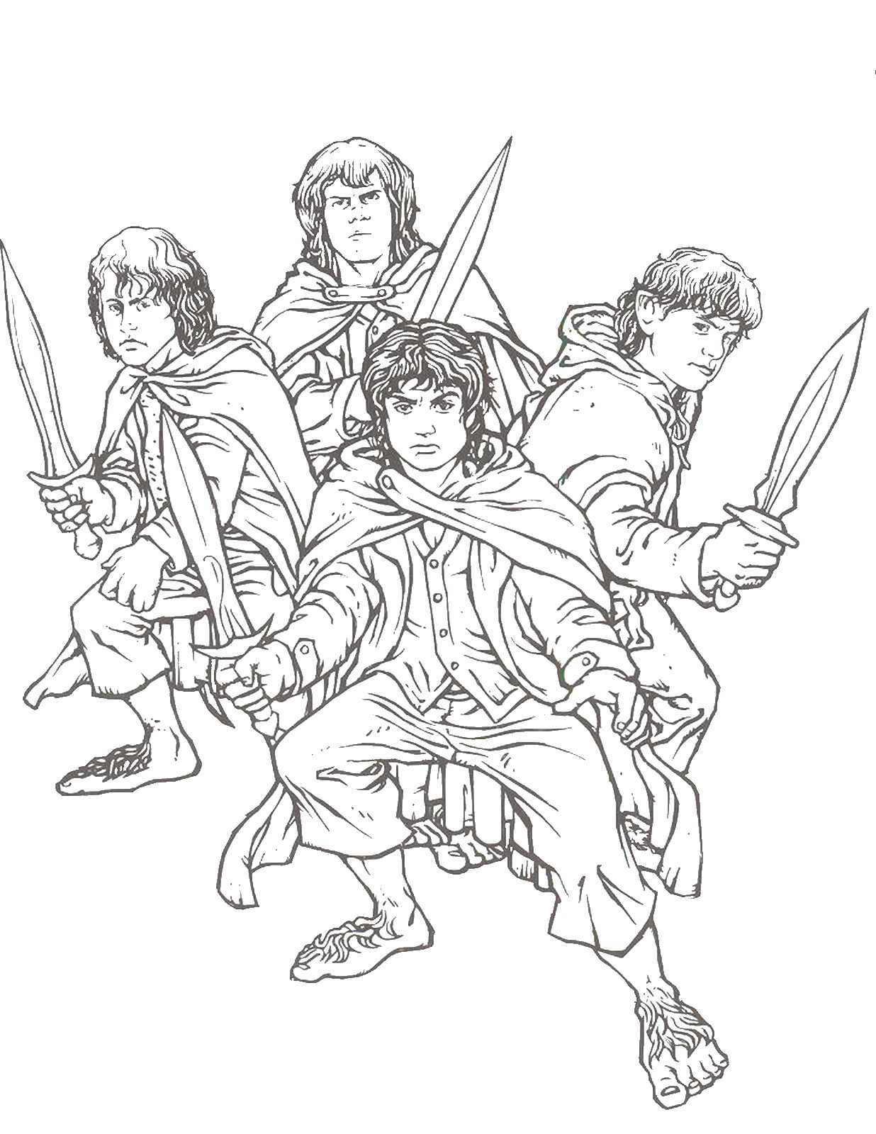The Lord Of The Rings coloring #2, Download drawings