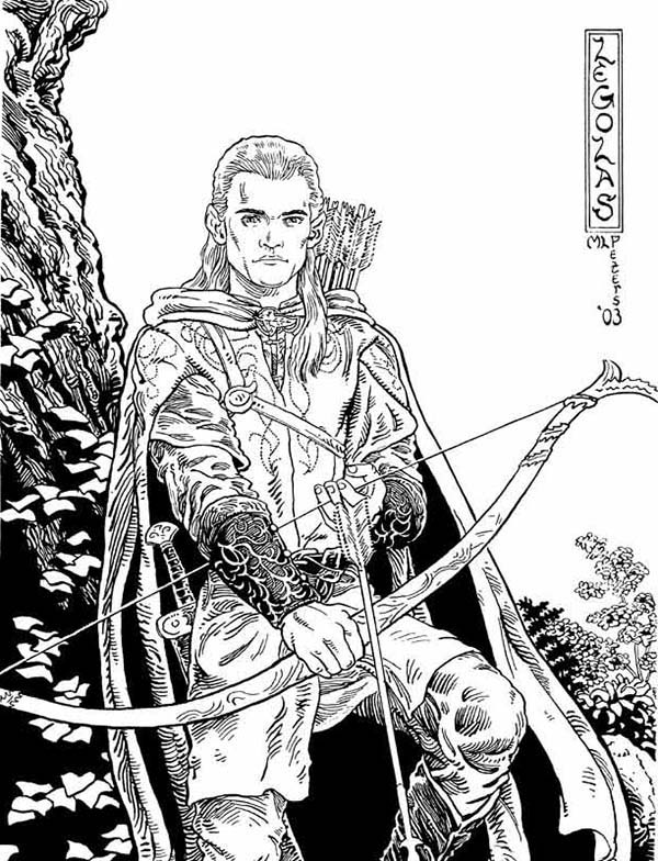 The Lord Of The Rings coloring #7, Download drawings