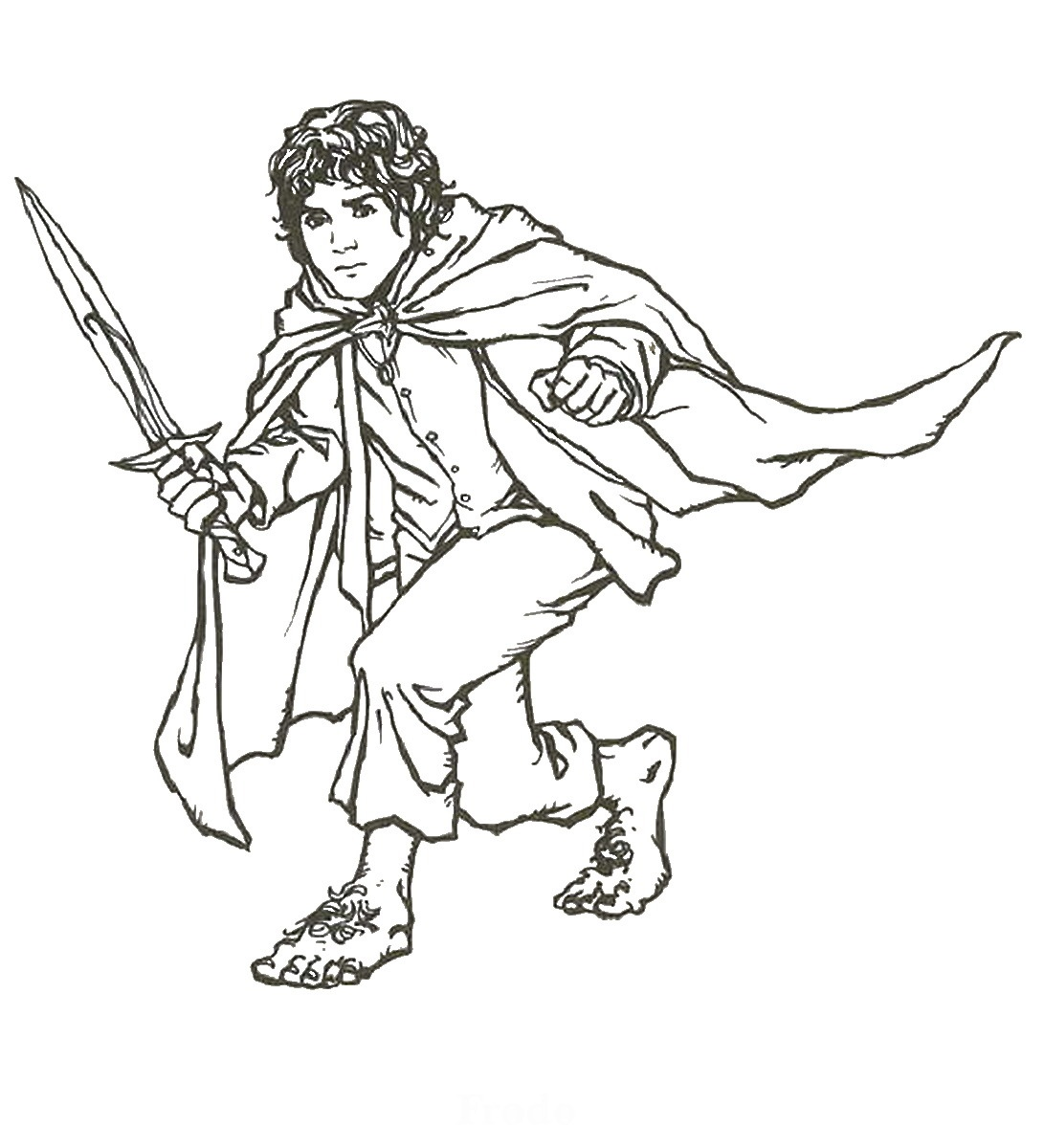 The Lord Of The Rings coloring #3, Download drawings