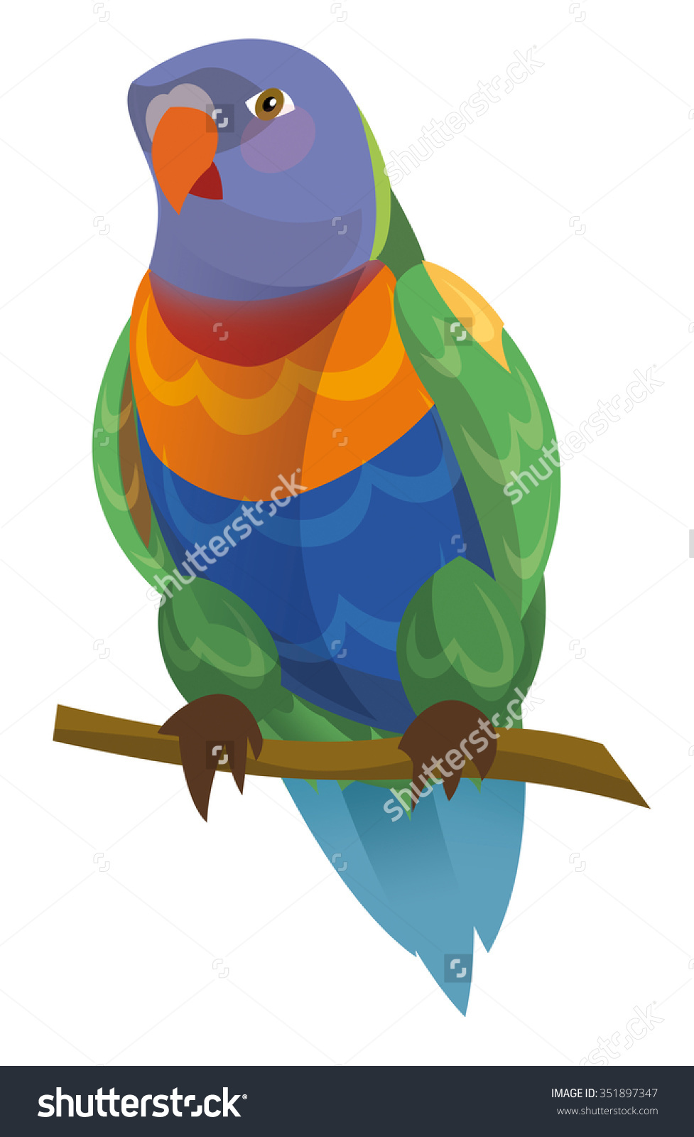 Lorikeet clipart #4, Download drawings