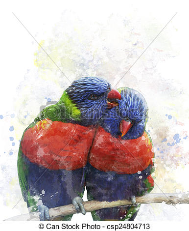 Lorikeet clipart #6, Download drawings
