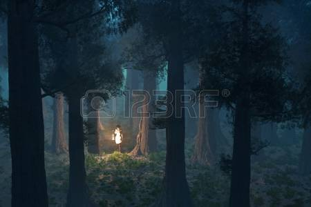 Lost Girl In Dark Forest clipart #16, Download drawings