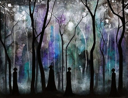 Lost Girl In Dark Forest svg #13, Download drawings