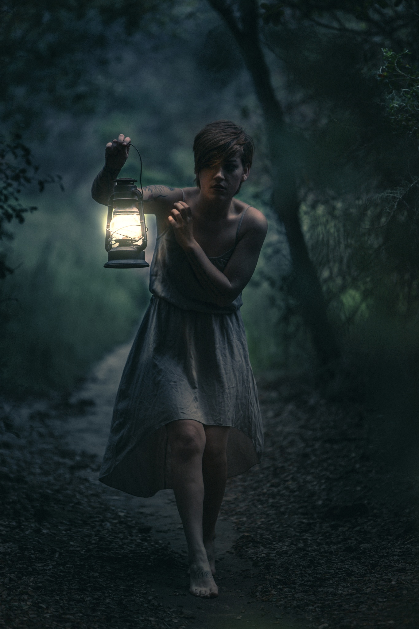 Lost Girl In Dark Forest svg #1, Download drawings
