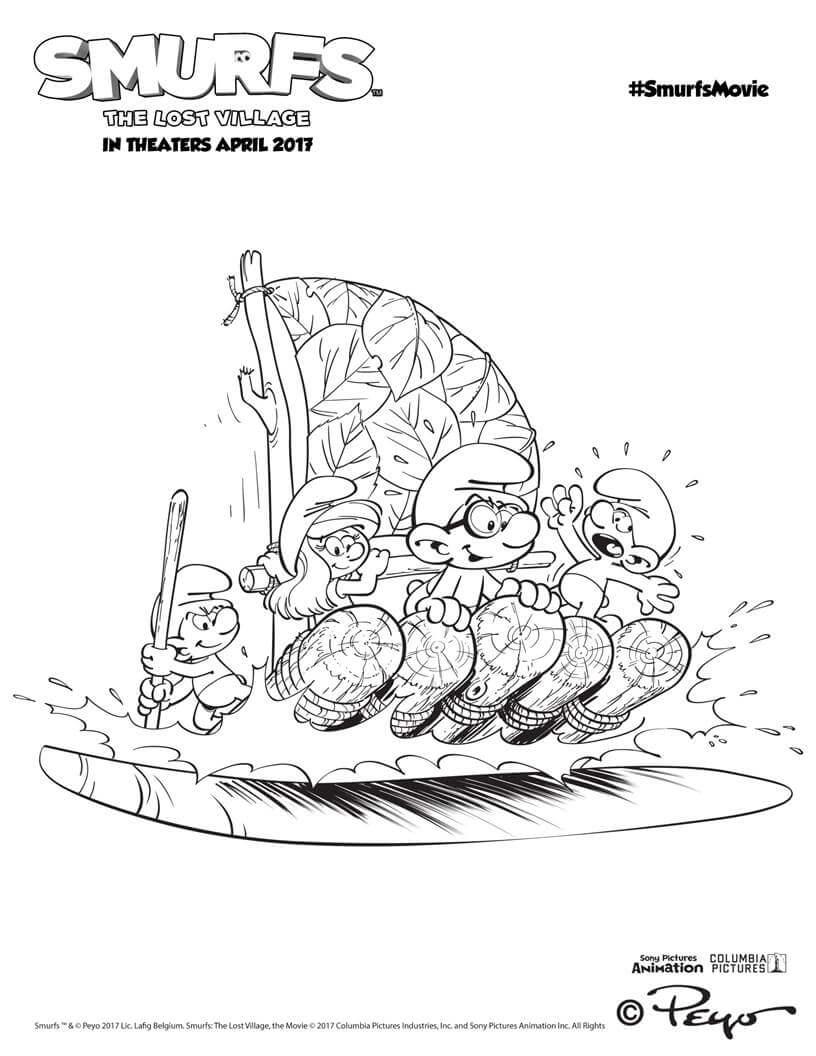 Lost Lake coloring #2, Download drawings