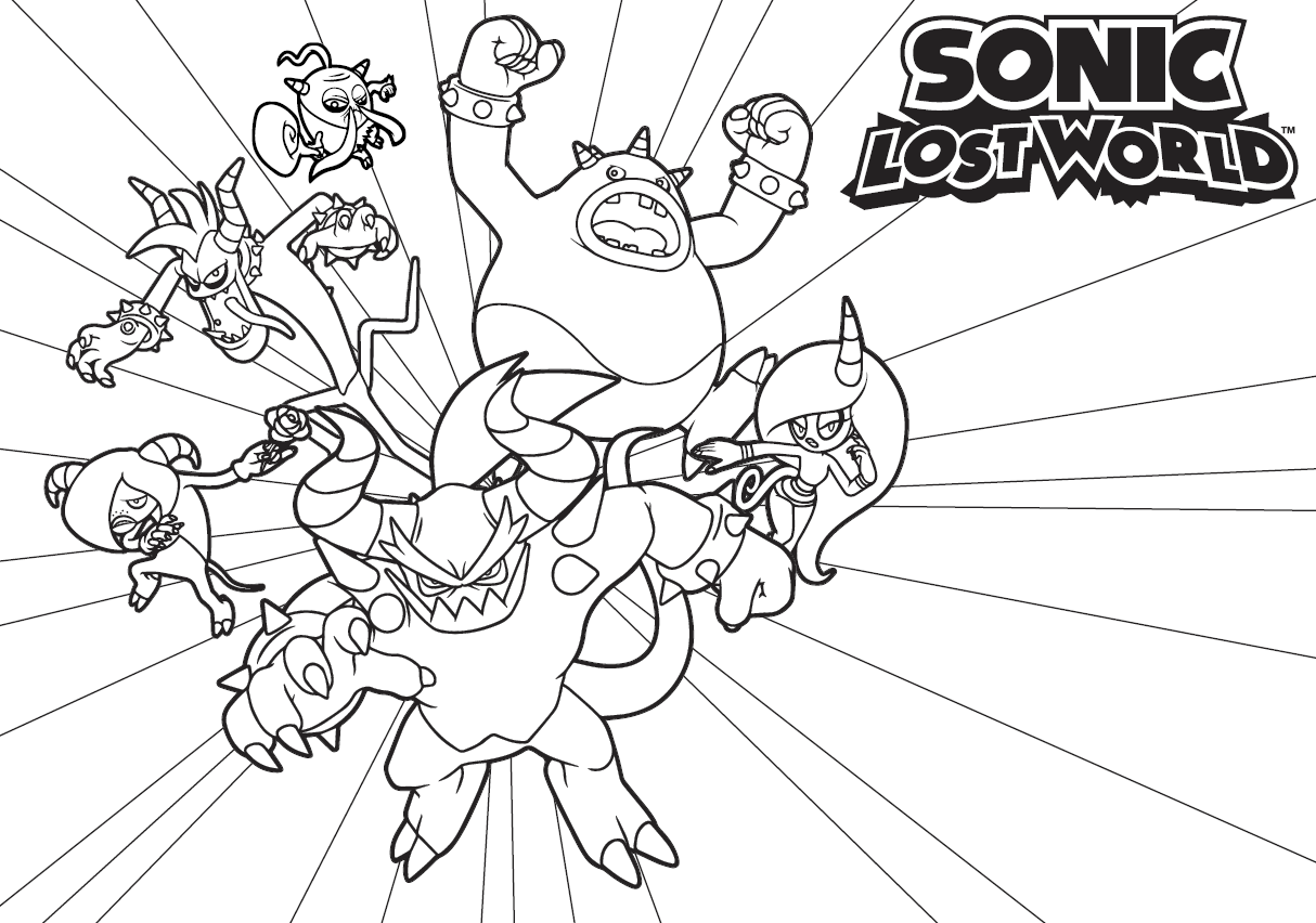 Lost Worlds coloring #20, Download drawings
