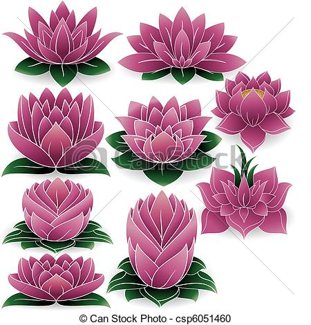 Lotus clipart #6, Download drawings