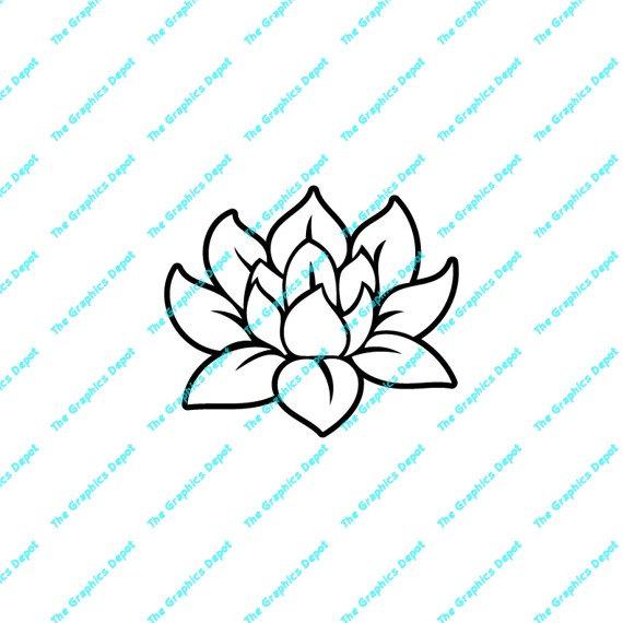 Lotus svg #5, Download drawings