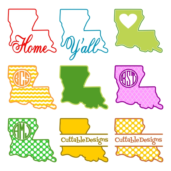 Louisiana svg #218, Download drawings
