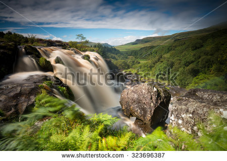 Loup Of Fintry Waterfall clipart #2, Download drawings