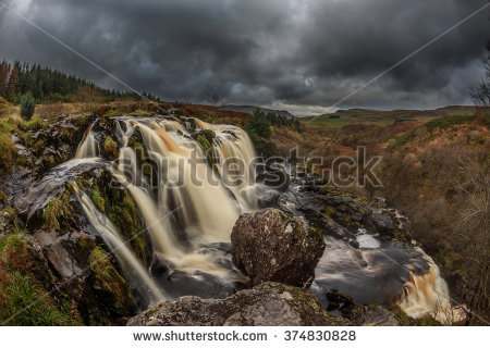Loup Of Fintry Waterfall coloring #15, Download drawings