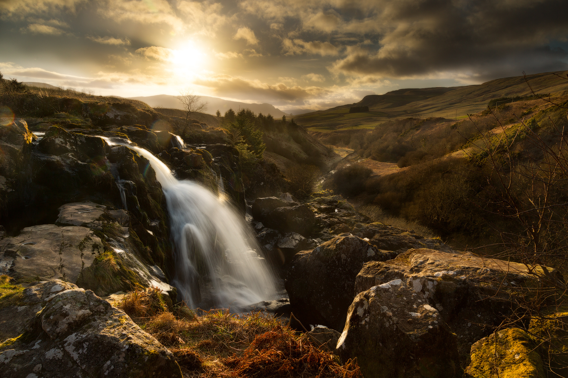 Loup Of Fintry Waterfall clipart #1, Download drawings