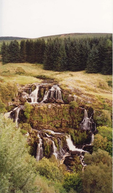 Loup Of Fintry Waterfall coloring #13, Download drawings