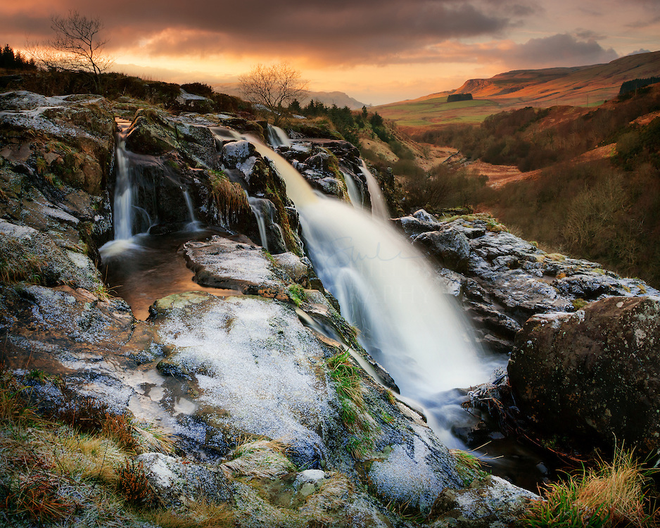 Loup Of Fintry Waterfall coloring #1, Download drawings