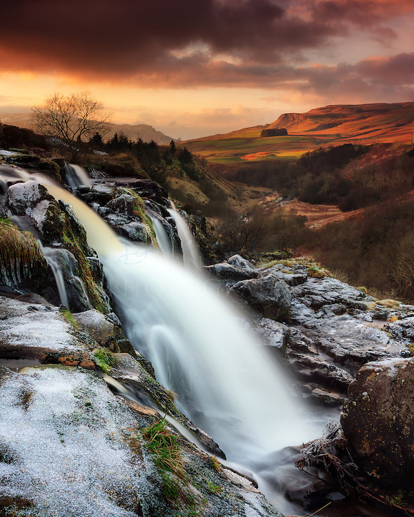 Loup Of Fintry Waterfall coloring #7, Download drawings