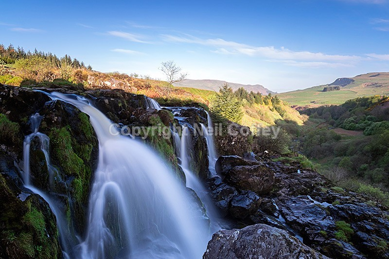 Loup Of Fintry Waterfall coloring #4, Download drawings