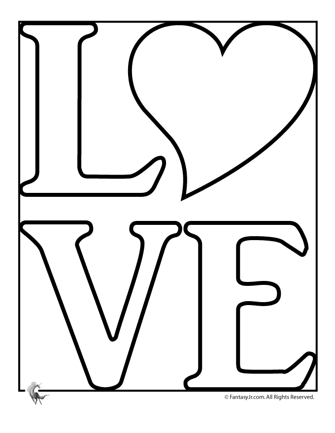 Love coloring #20, Download drawings