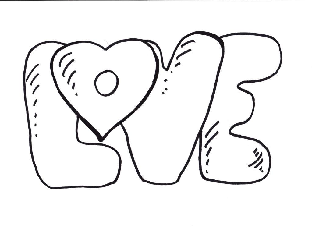 Love coloring #16, Download drawings
