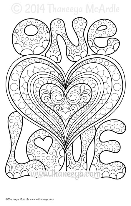 Love coloring #9, Download drawings