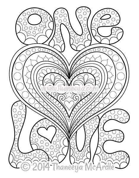 Love coloring #8, Download drawings