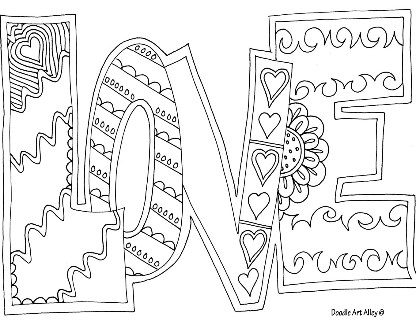 Love coloring #6, Download drawings
