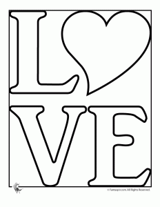 Love coloring #19, Download drawings