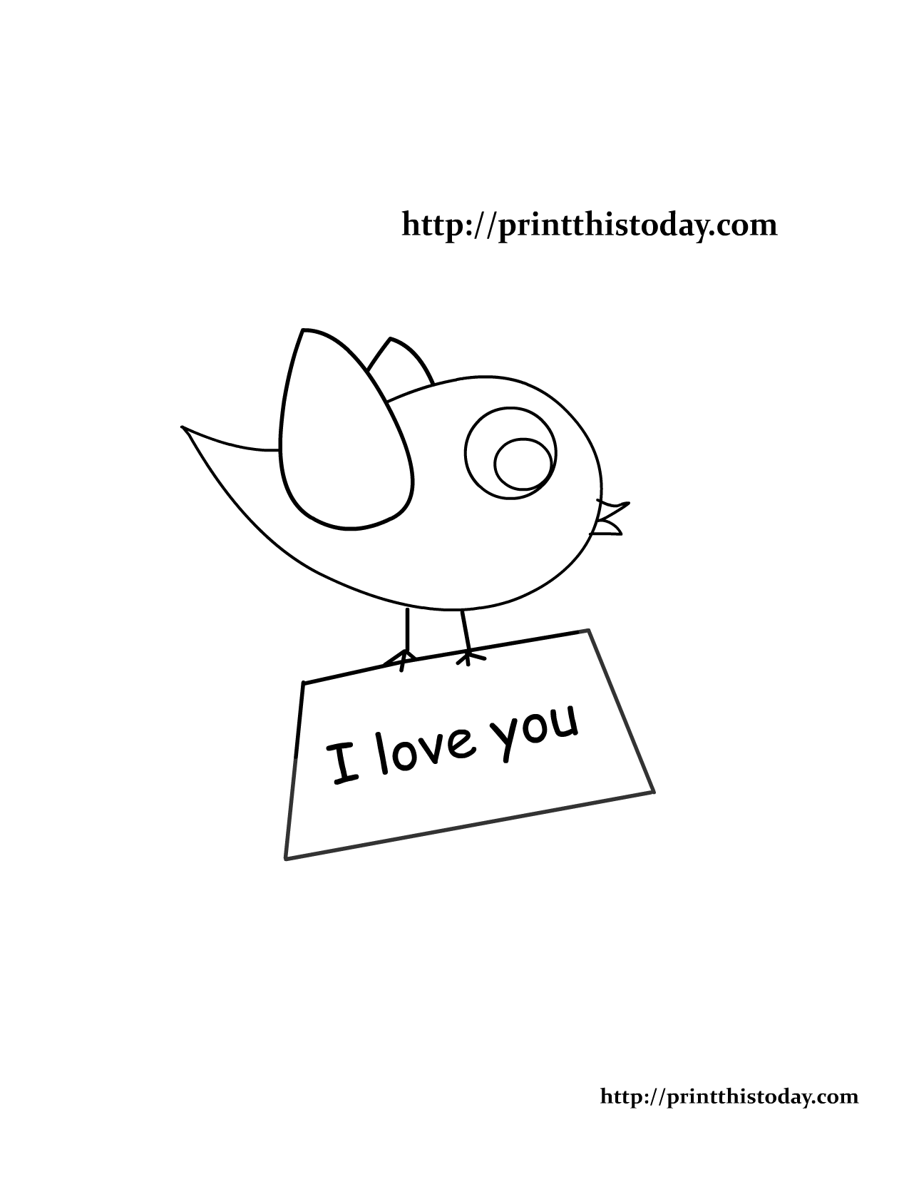 Lovebird coloring #20, Download drawings