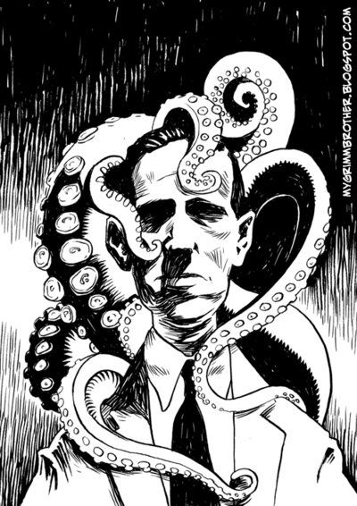 Lovecraft coloring #15, Download drawings