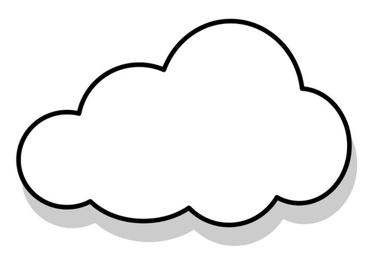 White Cloud coloring #19, Download drawings
