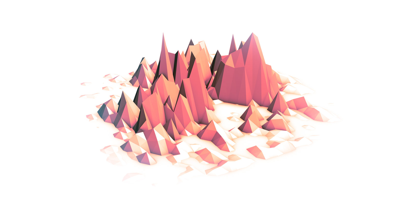 Low Poly coloring #16, Download drawings