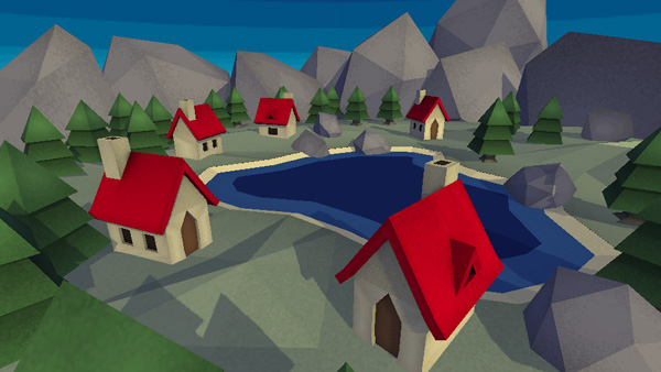 Low Poly coloring #4, Download drawings