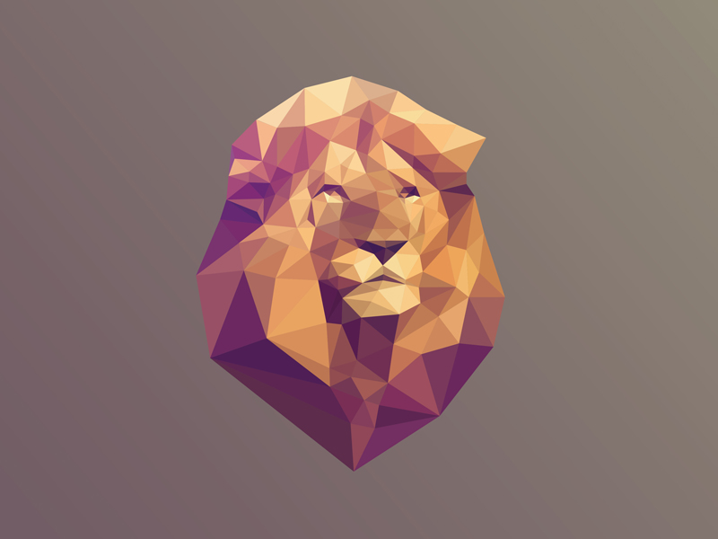 Low Poly svg #8, Download drawings