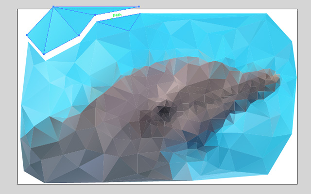 Low Poly svg #1, Download drawings