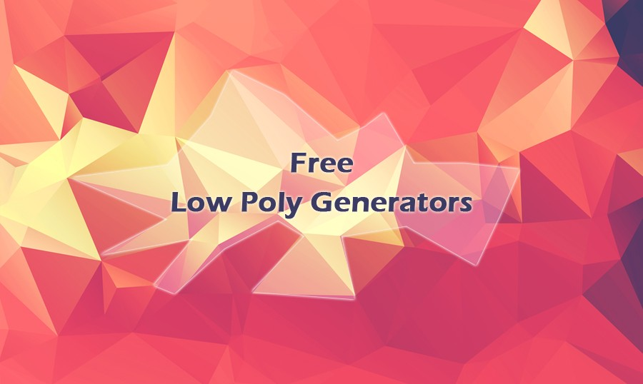 Low Poly svg #14, Download drawings