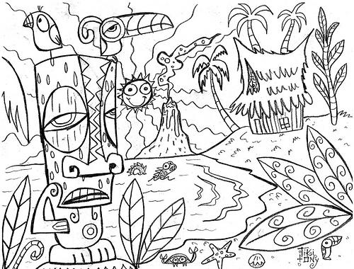 Lua coloring #12, Download drawings