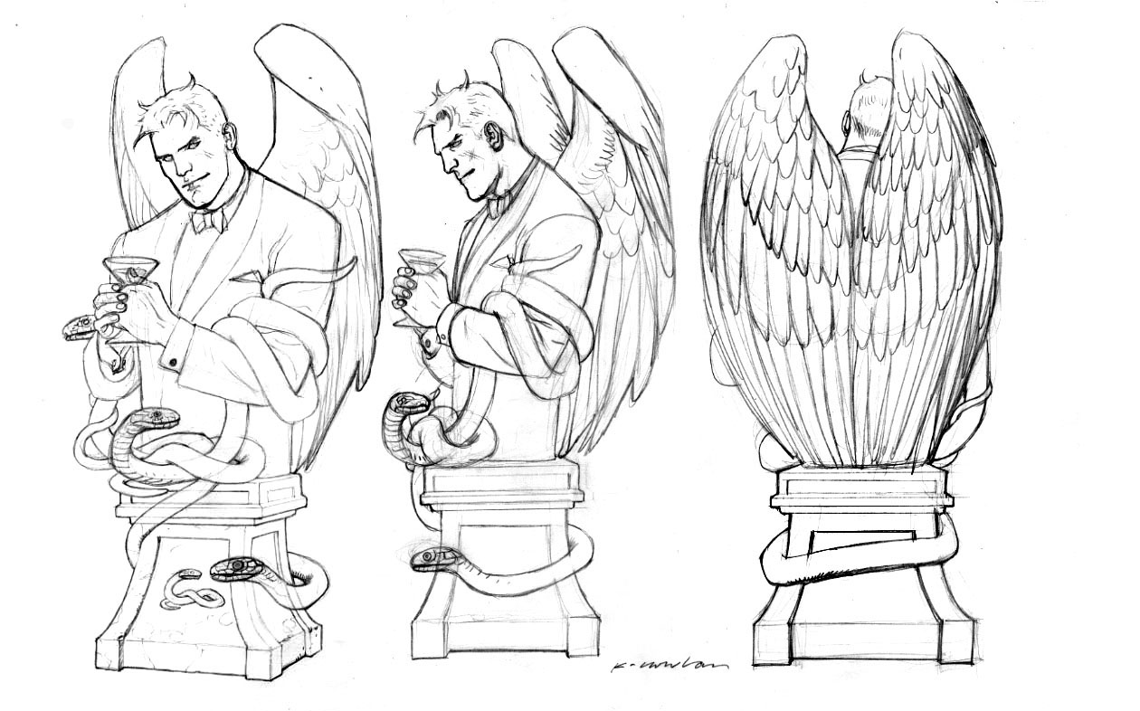 Lucifer coloring #9, Download drawings