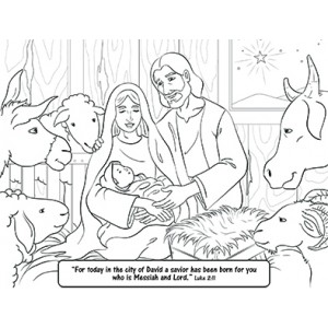 savior coloring pages - photo#12