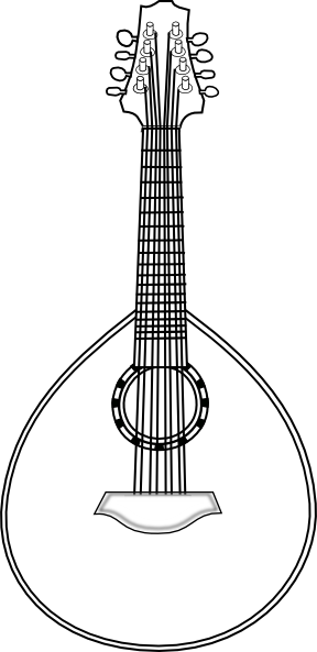 Lute clipart #15, Download drawings