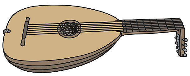Lute clipart #5, Download drawings
