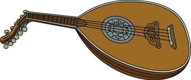 Lute clipart #4, Download drawings