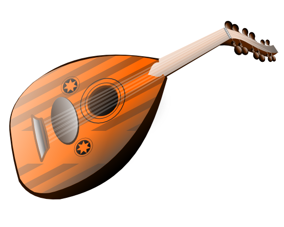 Lute clipart #20, Download drawings