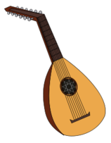 Lute clipart #12, Download drawings