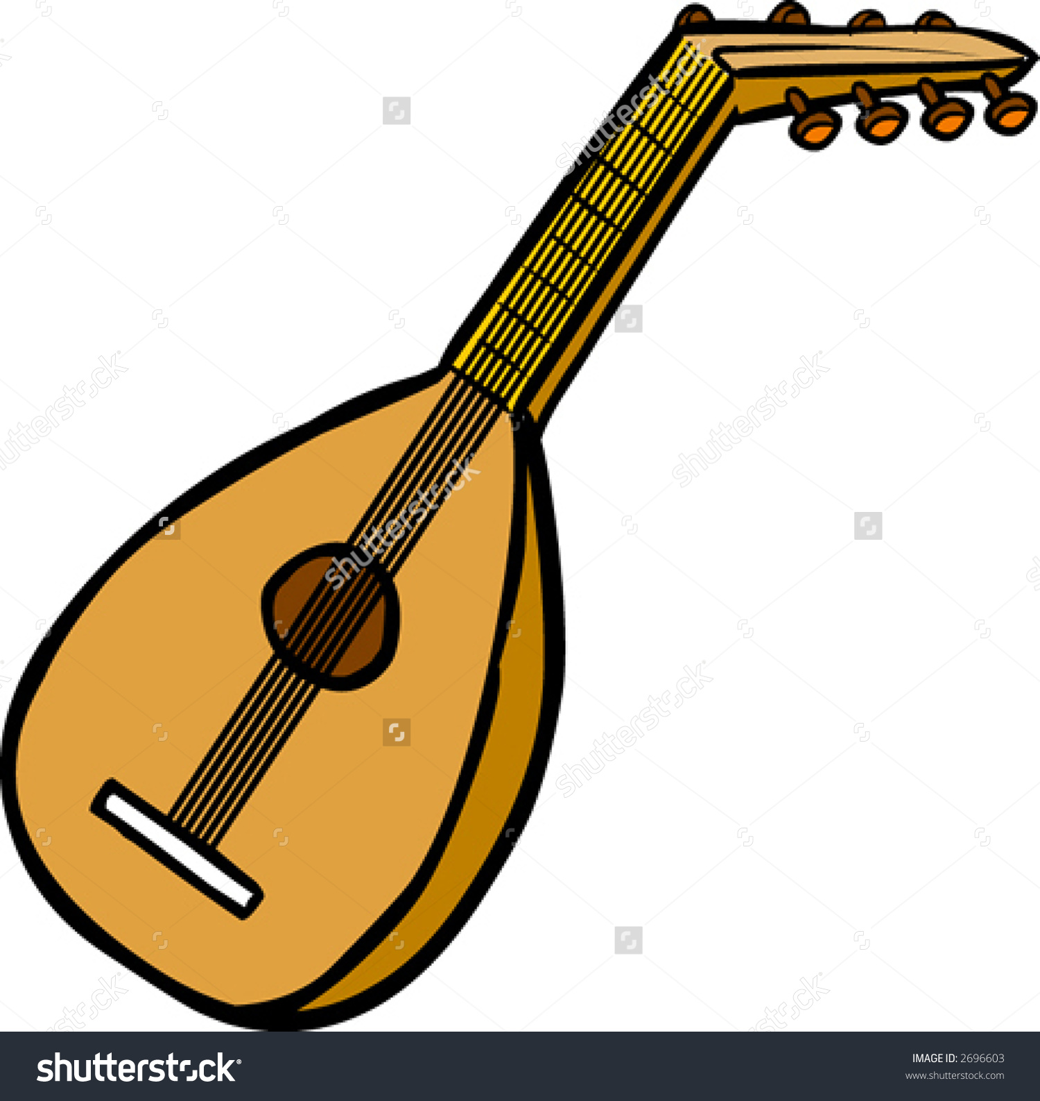 Lute clipart #8, Download drawings