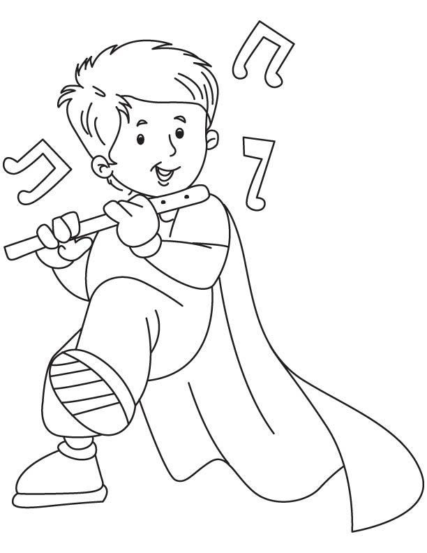Lute coloring #7, Download drawings