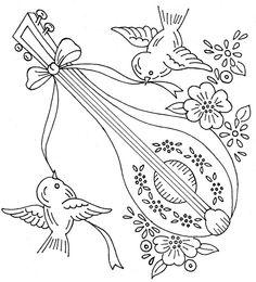 Lute coloring #10, Download drawings