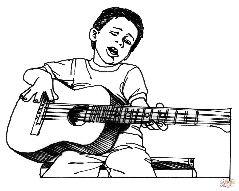 Lute coloring #3, Download drawings