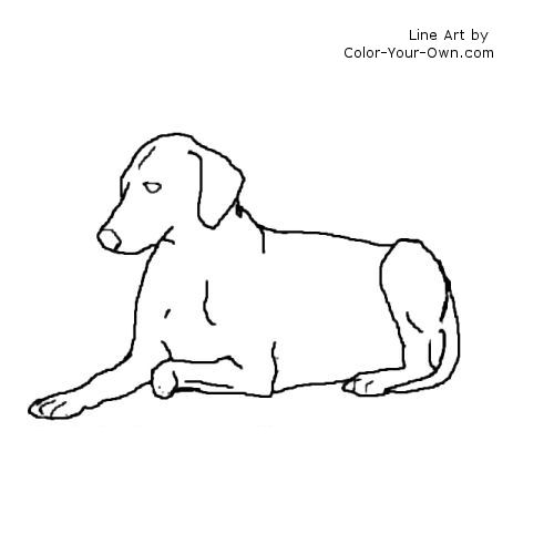 Lying Down coloring #20, Download drawings