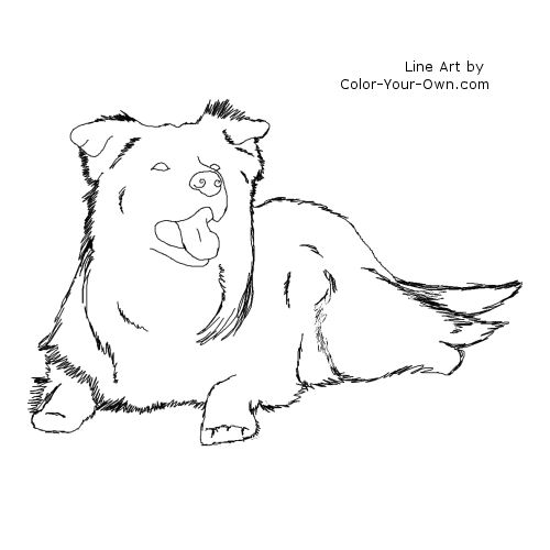 Lying Down coloring #19, Download drawings