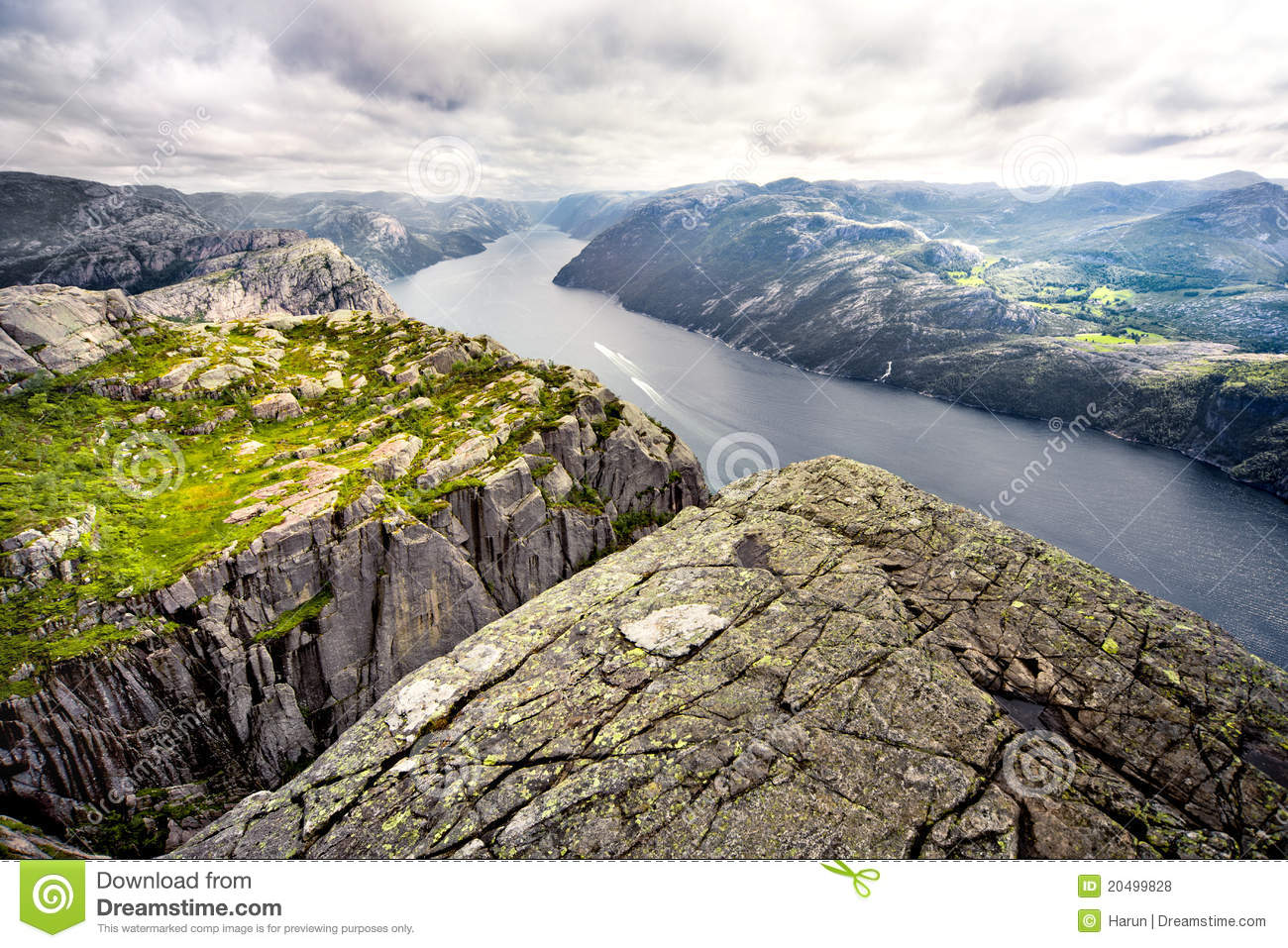 Lysefjord clipart #3, Download drawings