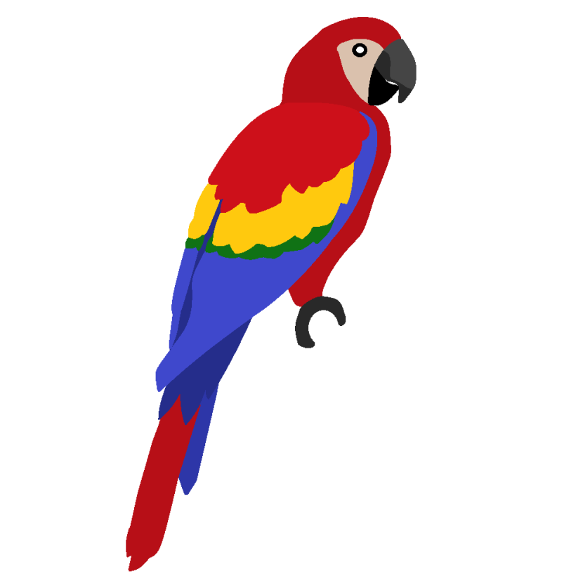 Parrot clipart #5, Download drawings